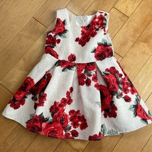 Children's Place Floral Holiday dress